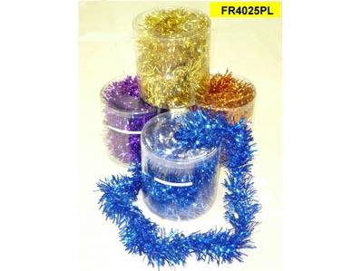 Christmas tinsel garland tang s decoration manufactory ltd